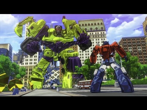 E3 Transformers Devastation  gameplay & interview