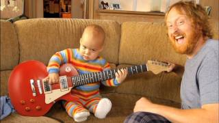Rocksmith - Baby plays Guitar | OFFICIAL | HD