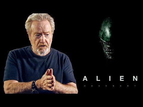 """Never Read Press"" - Ridley Scott About Film Critics   Alien Covenant"