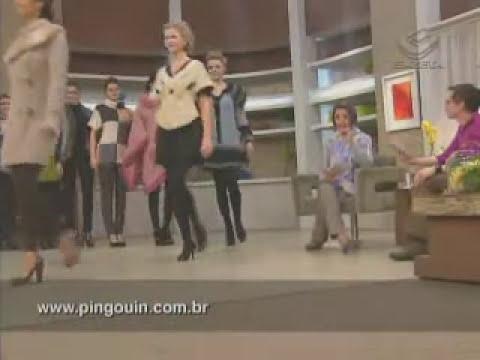 Desfile Pingouin Fios - Programa Mulheres