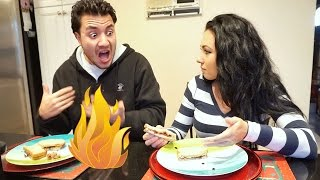 Super Spicy Peanut Butter and Jelly Sandwich Prank