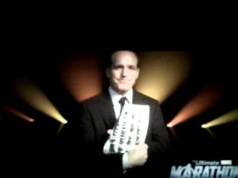 Agent Coulson introduces Iron Man