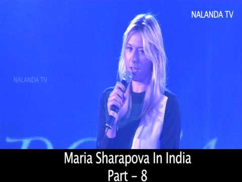 MARIA SHARAPOVA DAILY ROUTINE... HER CANDY BUSINESS...
