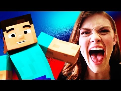 Annoying Teen Girls Trolled On Minecraft video