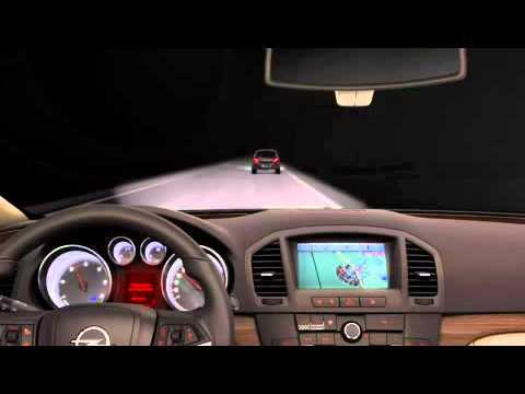 Opel Insignia - освещение дороги, часть 3