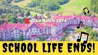 School Life Ends, And the Real Life Begins | Kalika Secondary School | 2074 Batch | Lyrics Video