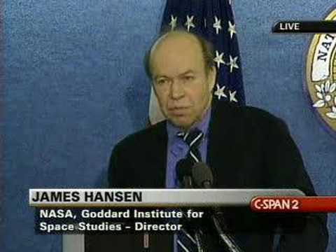 James Hansen talks about the urgency of the climate crisis