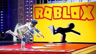 ROBLOX'TA EN EĞLENCELİ OYUN! - Roblox DELİKTEN GEÇ