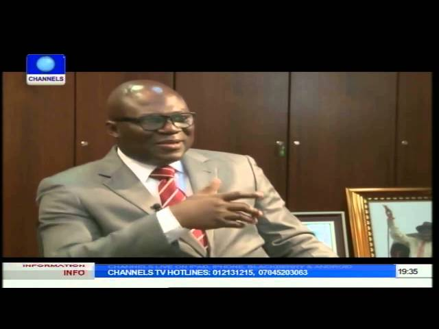 Dateline Abuja Interviews Ruben Abati On Jonathan's Second Term Bid Pt 1