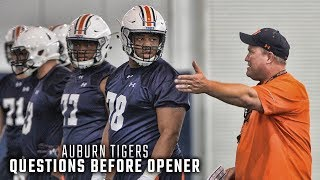 Answering Auburn's biggest questions before season opener