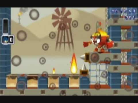 Mega Man Powered Up - Challenge Mode - Part 9-2 : Oil Man Challenges, the Outtakes