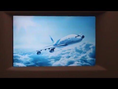 Malaysia Airlines MH2 A380 Business class Kuala Lumpur - London