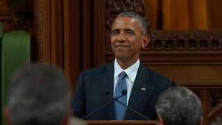Full Video: Obama addresses Canadian Parliament
