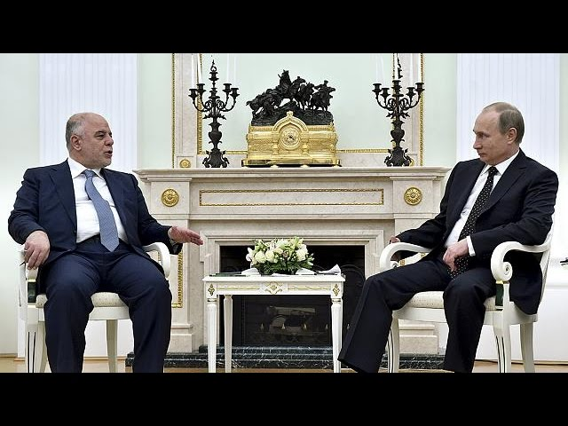 Iraq's PM seeks fresh support in Moscow talks