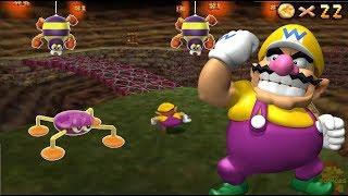 Super Mario 64 DS HD 150 Stars COURSE 6: Hazy Maze Cave