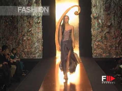 """Gattinoni"" Spring Summer 1999 Rome 2 of 7 Haute Couture woman by FashionChannel"