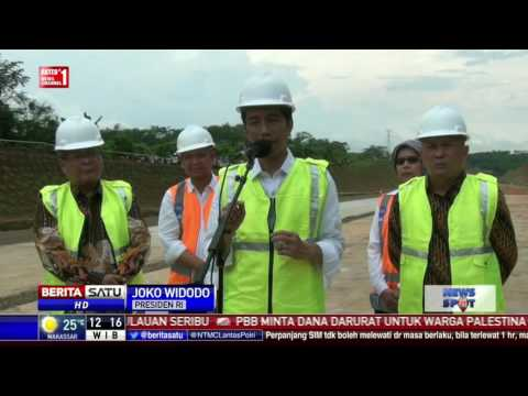 Presiden: Tol Batang Semarang Akan Beroperasi Lebaran 2017 #1