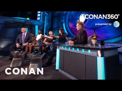 "CONAN360: ""The Walking Dead"" Fans Are Super-Intense"