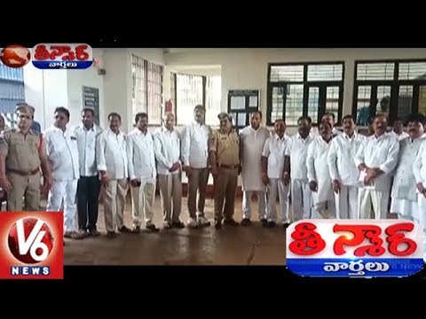 TRS MPs And MLAs Visits Cherlapally Jail, Meets Prisoners | Teenmaar News | V6 News