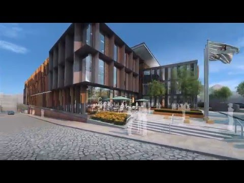 UK Council Headquarters Architectural CGI Fly-through