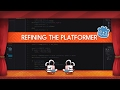 How to do double jumps and flip the character - Godot platform game tutorial thumbnail