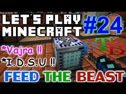 Let's Play Minecraft Hermitcraft FTB Ep. 24 - The Vajra & I.D.S.U