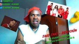 REACCIÓN: Dj Snake - Taki Taki Ft.Ozuna, Selena Gomez, Cardi B (Video Reaction) ME VUELVO LOCO.