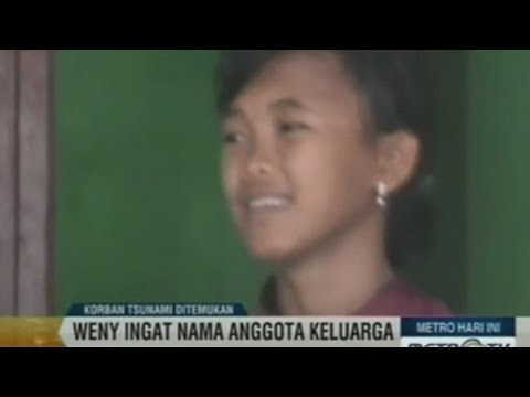 'Dead' tsunami girl reunited with family 10 years on