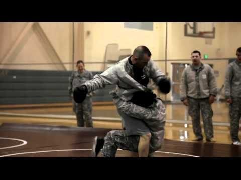 U.S. Army Combatives Clinch Drill Image 1
