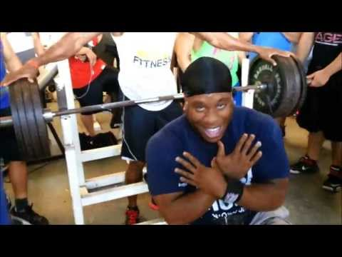 405 Pounds On The Bench Press