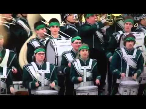 Brewster High School Marching Band in Dublin