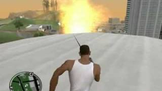 GTA San Andreas - TO GTA IV The Best Mod Line Tuning Xplosions Nervozos