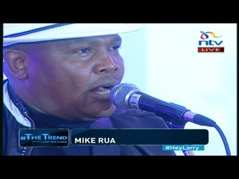 Mike Rua performs his rendition of 'Salome' #theTrend