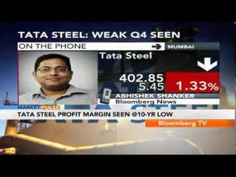 Market Pulse- Tata Steel Profit Margin Seen At Decade Low