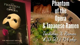 #Phantomoftheopera #Watchthis Phantom of the Opera / Ramen / The Best Black Rice Pudding (Biko)