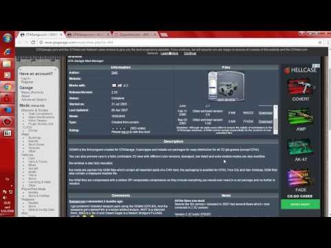 สอนลงMODรถZ800 ใน GTA SAN