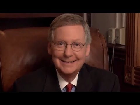 It's Creepy But Try Not To Laugh At These Mitch McConnell Parodies