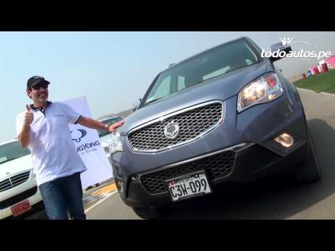 SsangYong Korando 2012 y Actyon Sports 2012 en La Chutana I Video en full HD I Todoautos.pe