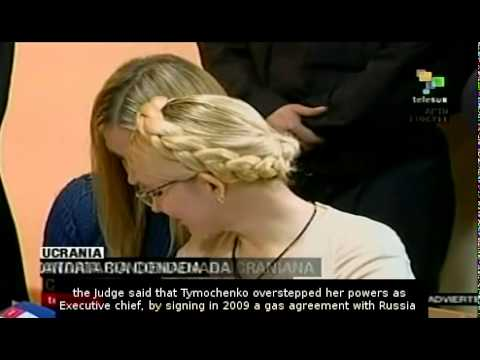 Yulia Tymoshenko sentenced to 7 years in prison