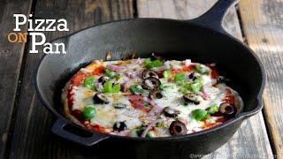 Easy Pan Pizza - Foolproof Crust - Healthier, Low-Fat Pan Pizza ...