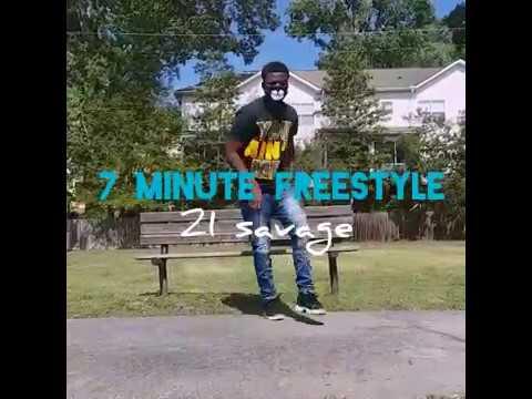 7 Minute Freestyle - 21 Savage (Dance Video) | @S.R.F Yuppi