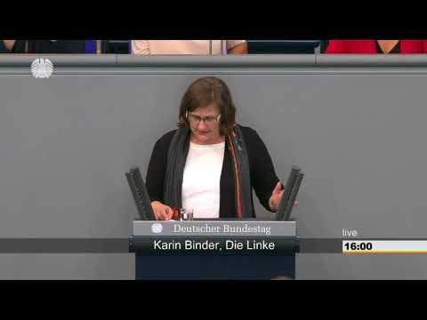Karin Binder: Ernährung und Landwirtschaft [Bundestag 08.09.2016]