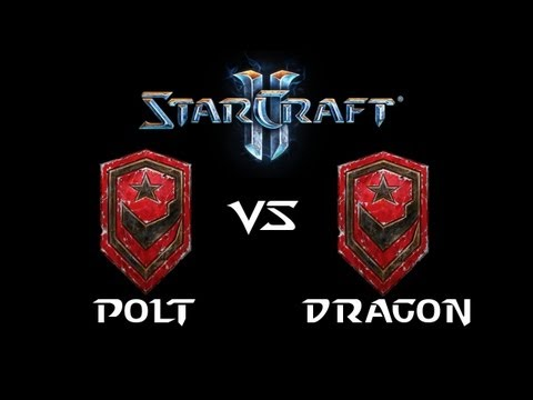 StarCraft 2 - Polt [T] vs Dragon [T] (Commentary)
