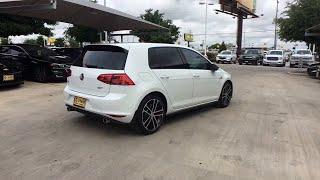 2017 Volkswagen Golf GTI San Antonio, Houston, Austin, Dallas, Universal City, TX C19154A