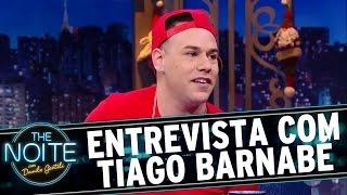 Entrevista com Tiago Barnabé   The Noite (22/12/16)