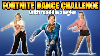 Download Lagu FORTNITE DANCE CHALLENGE: DANCE MOMS vs OLYMPIAN featuring MADDIE ZIEGLER + SHAWN JOHNSON Gratis STAFABAND