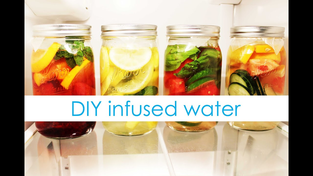 DIY Fruit Infused Water
