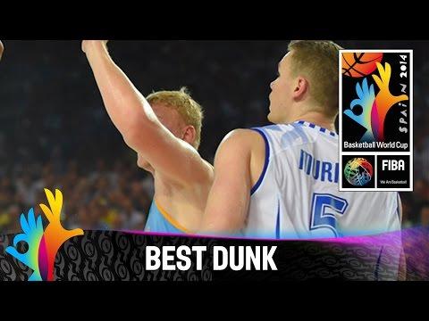 Finland V Ukraine - Best Dunk - 2014 Fiba Basketball World Cup video