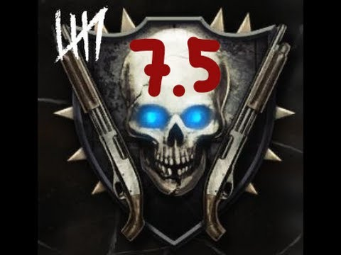 Road to Shotguns #7.5 - Black Ops 2 Zombies Max Rank Highest Emblem Guide