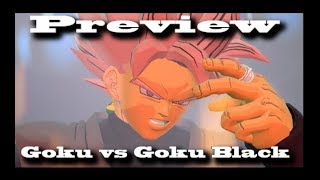 Goku vs Goku Black   SFM Animation Preview